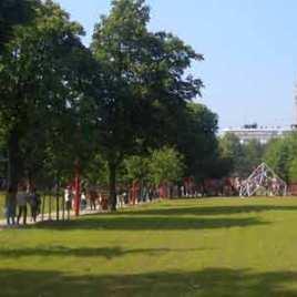 Park Jean Baptiste Lebas Lille, France
