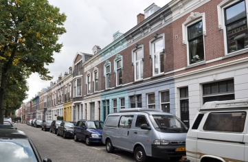 Row houses build in 1895