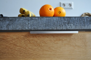 Natural material for the kitchen counter