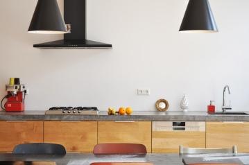 Open kitchen+dinning room