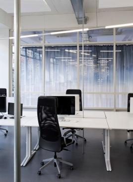 Semi open working spaces