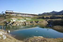 Golf clubhouse Chuncheon South Korea