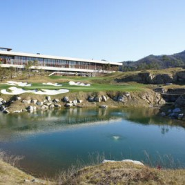 Golf clubhouse Chuncheon South Korea
